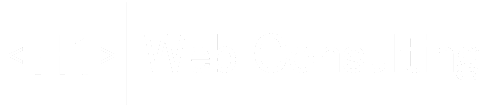 H1 Web Consulting Logo